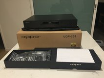 Am selling my  Used OPPO UDP-203 4k Blu-Ray player in Chicago, Illinois