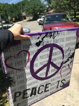 """Peace is "" canvas print in Kingwood, Texas"