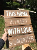 Rustic wall hanging in Houston, Texas