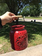 Ceramic candle holder in Kingwood, Texas