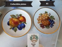 Fruit collectible  plates in Vacaville, California