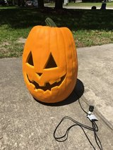 Light up pumpkin large in Houston, Texas