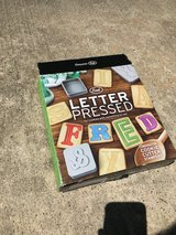 Cookie letter press NEW in Houston, Texas