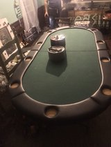 """82""""inch Texas Hold'Em poker table in Tomball, Texas"""
