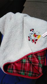 Mickey and Minnie mouse blanket in Buckley AFB, Colorado