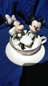Lennox Mickey and Minnie mouse in a tea cup in Buckley AFB, Colorado