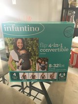 Infantino 4 in 1 Baby Carrier Brand New Sealed Box in Lockport, Illinois