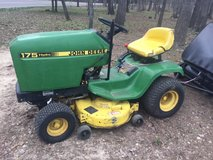 John Deere 175 Hydro Riding Mower in Fort Leonard Wood, Missouri