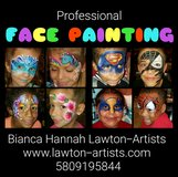 Face Painting and Balloon Twisting  - Monday night in Lawton, Oklahoma