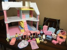 Dollhouse and 45 accessories in Fort Knox, Kentucky