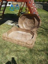 Great Plastic Sandbox with Cover in Glendale Heights, Illinois