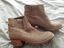Suede booties in Naperville, Illinois