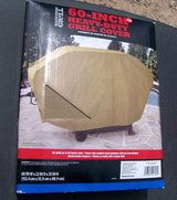 "New in box!  60"" Heavy-Duty BBQ Grill Cover, Tan in Alamogordo, New Mexico"