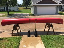 Old Town 158 Discovery Canoe- Red. in Leesville, Louisiana