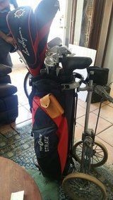 Golf set in Fort Huachuca, Arizona