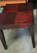 1cherry, 1white end table in Clarksville, Tennessee
