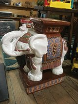 Elephant plant stand in Fort Campbell, Kentucky