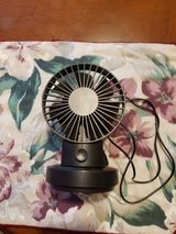 NEW SMALL BLACK FAN WITH USB CORD in Fort Campbell, Kentucky