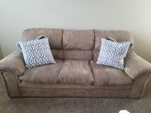 Beige couch in Chicago, Illinois