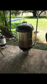 Weber Smoker in Okinawa, Japan