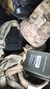 Assortment of gear, let's make a deal in Fort Carson, Colorado