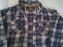 superdry check shirt s size l in Lakenheath, UK