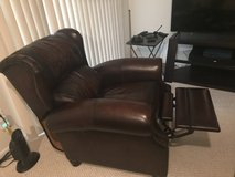 Leather Recliner Chair in Fairfax, Virginia