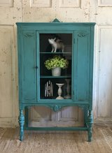 Antique Hutch- Teal Lake in Kingwood, Texas