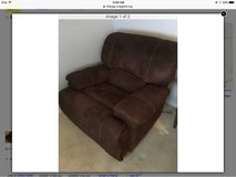 Micro suede extra large recliner chair in St. Charles, Illinois