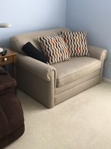 Love seat with hide-a-bed in Glendale Heights, Illinois