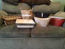 Assorted baskets in Glendale Heights, Illinois