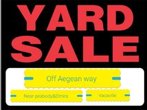 YARD SALE 4/28-4/29 **8-4** in Fairfield, California
