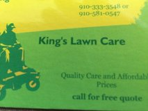 Lawn service in Camp Lejeune, North Carolina