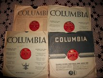 "Lot of 4 - Benny Goodman - 12""   78 RPM - Very Good Condition ..... Columbia Label - # 55001 - 5... in Cherry Point, North Carolina"