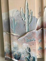 Southwest 3D Acrylic Canvas Painting in 29 Palms, California