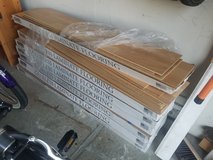 Laminate flooring - 7 boxes (plus extra pieces) in Fairfield, California