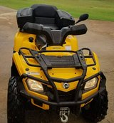 2008 Can AM Outlander XT w winch and rear seat in exc. condition in Warner Robins, Georgia