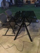 Glass table and 2 chairs in Spring, Texas