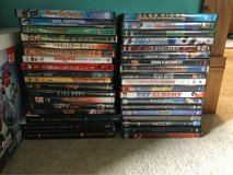 Movies for sale multiple genres. 3 Books also. in Fort Leonard Wood, Missouri