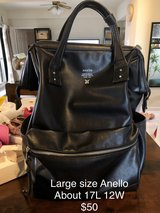 Large leather Anello bag in Okinawa, Japan