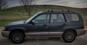 2003 SUBARU FORESTER 2.5 XS AWD. NEWER TIRES & WHEELS/SUSP/STEERING/TRANS/DIFF. SEE DESCRIPTION in Shorewood, Illinois
