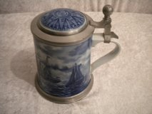 GERMAN BEER STEIN W/LID NAUTICA 1985 LIMITED EDITION SERIES in Stuttgart, GE
