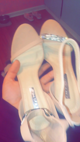 SIZE 10 BRAND NEW PROM SHOES in Beaufort, South Carolina