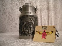 LITTLE GERMAN PEWTER MILK CAN MODELL ZINNKANNE 95% PEWTER in Stuttgart, GE