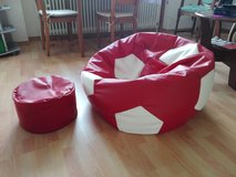 Sitting ball with footrest in Ramstein, Germany