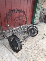 Custom Outdoor Iron Patio Bench in Baytown, Texas