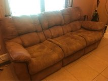 three seater and love seat in Fort Campbell, Kentucky