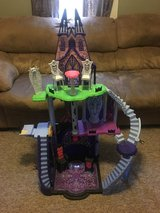 Monster High Catacombs Castle in Fort Drum, New York