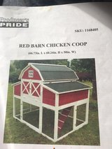 Red Barn Chicken Coop in Perry, Georgia