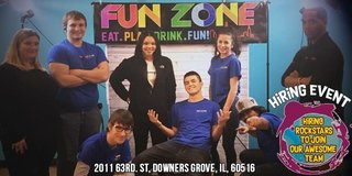 FUNZONE HIRING EVENT in Bolingbrook, Illinois